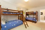 Bedroom 4 is a very large spacious room with 2 large fully fitted closets. This room also has cable TV & DVD player