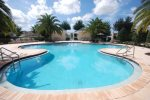 The Homestead Pool and hot tub less than 5 minutes walk from this home