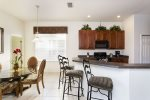 Breakfast bar seating