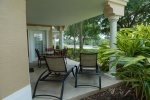 Comfortable patio furniture