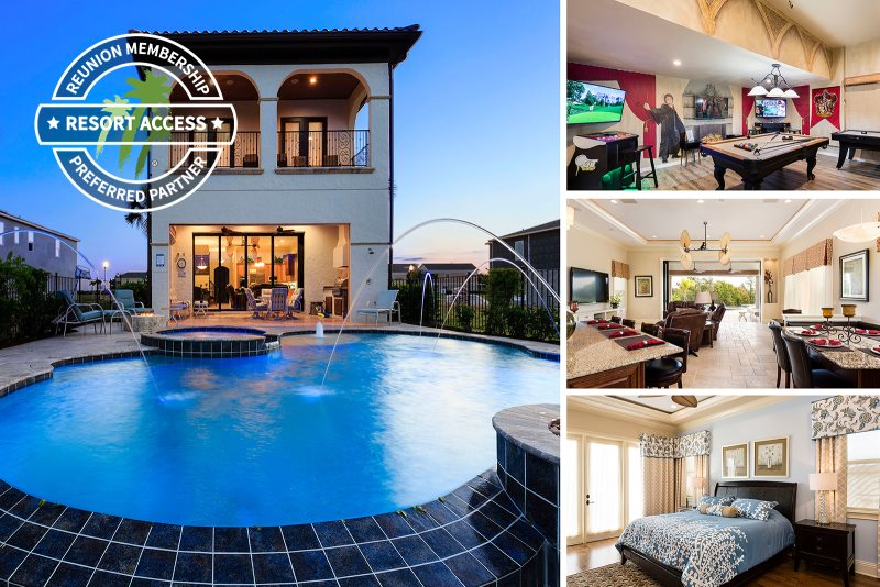 Infinity Luxury | Luxury Villa With Games Room, Infinity Pool, Summer  Kitchen U0026 Gas Fire Pit