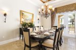 Elegant Formal Dining for your Gourmet Meals