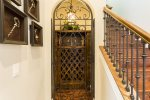 Enjoy such home upgrades as a wine cellar