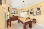 Head upstairs to this fabulous loft game room