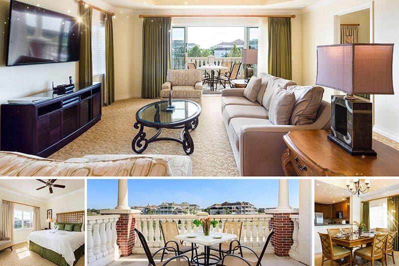Sandy Ridge Deluxe   Reunion Resort 3 Bed 3 Bath Condo with Upgraded 60  Inch TV. Sandy Ridge Deluxe   Reunion Resort 3 Bed 3 Bath Condo