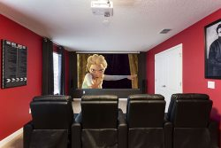 Your own movie theater in the comforts of your home