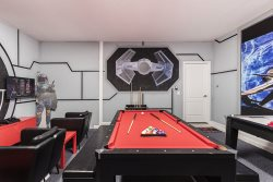 The kids will love their own games room to simply have fun every night