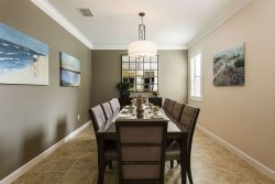 Formal Dining room with seating for 10