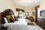 Experience great comfort in this downstairs king bedroom