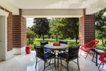 Enjoy your own private patio that opens up to the reserve