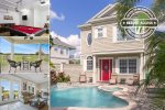 Palm Court Villa | 4 Bedroom 3.5 Bathroom with Pool & Great Views