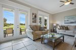 Let the sun in and enjoy the views from the comfort of the living area