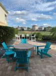 Enjoy a family meal outside on your private patio