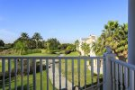 Take advantage of balcony views overlooking the Legacy golf course