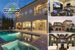 Muirfield Estate Luxury 8 Bedroom Villa with Theater Room, Games Room with Arcade Games