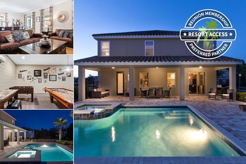8 bedroom vacation rental home reunion resort florida for 20 bedroom vacation rentals florida