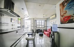 Modern 1 bedroom apt with a balcony with p/ view of the ocean in Copacabana