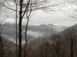 Morning Mists Dance Over the Mountains Like Smoke