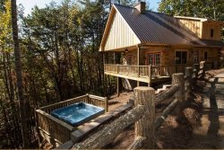 Moonstruck at Deep Creek - Mountainside Cabin with Hot Tub and Wi-Fi - Minutes from Fishing and Hiking