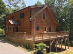 the Scratching Post Cabin, Secluded again the Nantahala Forest