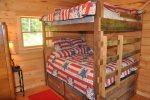 Third Bedroom with Full Bunk Beds