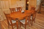 The Dining Table Seats 6