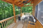 Relax On the Covered Deck with Gas Grill