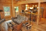 Gorgeous Log Cabin in the Smoky Mountains