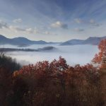 Smoky Mountain Fall View from Cloud 10