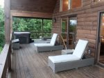 Lounge on the Open Deck