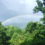 Rainbows in the Mountains