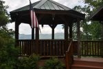 Grill Dinner and Dine Under the Gazebo