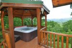 Mountain Views From the Hot Tub