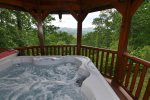 Relax In The Covered Hot Tub