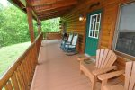 Enjoy Morning Coffee On The Spacious Deck
