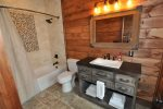 Beautiful Bath with Tub/Shower Combo