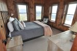 Fourth Bedroom Has a Queen and Window Views