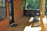 Enjoy the Hot Tub On Covered Deck