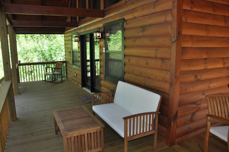Secluded Smoky Mountain Cabin Rental Harmony Hollow