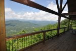 Relax on the Covered Deck and Enjoy the View