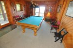 Full Sized Pool Table for Lots of Fun