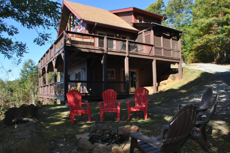 High Haven Cabin Bryson City Pet Friendly Cabin Rental