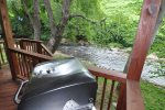 Grill Your Catch at Creekside Hideaway