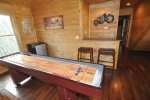 Shuffleboard and a Bar Area