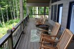 Enjoy Conversation or Quiet Time on the Deck