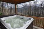 Relax In The Soothing Hot Tub