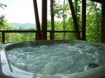 Smoky Mountain View from the Hot Tub