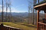 Endless View from Cherokee Timber Lodge