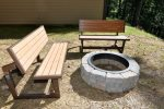Gather Around the Outdoor Fire Pit with Room to Play