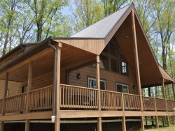 Dreamcatcher Cabin - Plenty of mountain memories to be made in this gorgeous cabin with amazing views. Hot Tub and Fire Pit
